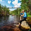 Lapinsalmi Hanging Bridge