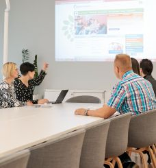 Meeting at the Adult Education Centre Kouvola Adult Education Centre Taitaja
