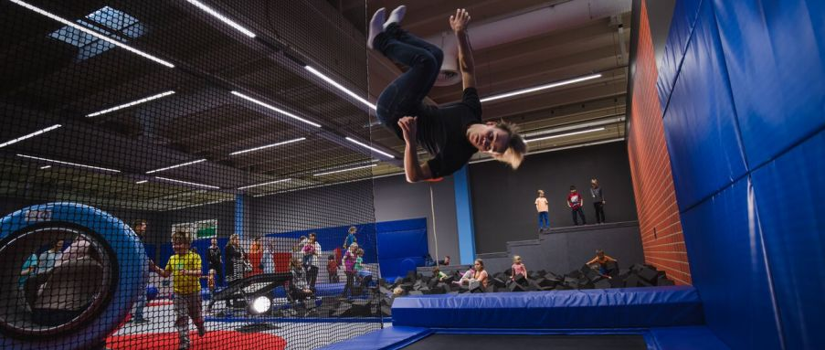 Tykkimäki Actionpark in Kouvola is open year around