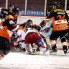 <p>KooKoo plays icehockey at Lumon Arena</p>